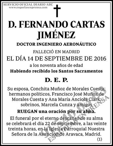 Fernando Cartas Jiménez